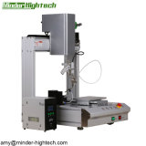PCBA/LED/LCDのための三軸単一ヘッド単一ステーション自動はんだ付けする機械