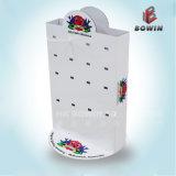 Estante de exhibición del papel del estante de la cartulina de papel de encargo