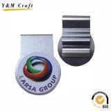 Aduana delgada Ym1200 del sostenedor del clip del dinero del metal de plata de la alta calidad