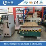 木製の切り分ける機械12部分のカッターの自動ツールの変更の