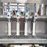 Автоматическая машина завалки вязкостной жидкости для масла, тензида прачечного, шампуня etc.