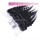 Venda por grosso de onda profunda indiano Virgem de cabelo humano