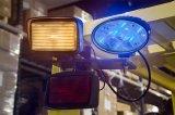 12W de 5,6 pulgadas LED CREE mancha azul de la carretilla elevadora de luces de seguridad