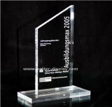 Custom Clear Crystal Plaques акрилового премии Award