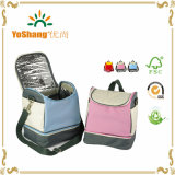 600d Polyester Zippered Insulated Lunch Bag, Customized Lunch Cooler Bag, Lunch Bag