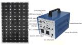Sistema de energia solar de energia elétrica de economia de energia de 80W com inversor de onda senoidal pura