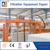 Filtre-presse automatique pour le traitement de cambouis d'eau usagée