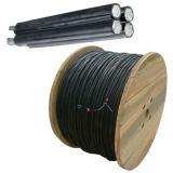 Кабель ABC низкого напряжения тока 1kv, воздушный изолированный кабель пачки/XLPE изолированный кабель ABC