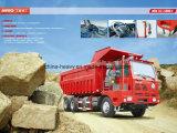 Sinotruk de Vrachtwagen van de Kipwagen van de Mijnbouw van de Koning van 25 Ton