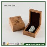 De elegante Doos van de Juwelen van Soild van het Bamboe Houten