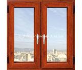 صنع وفقا لطلب الزّبون ألومنيوم مزدوجة يزجّج [ويندووس], شباك نافذة مع [فلسكرين]