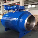 Vávula de bola de flotación del acero de carbón del API 6D A216 Wcb 150lb