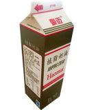 1kg de 3 Camadas Gable Top Carton para Sumo/Leite/creme/vinho/Água/iogurte