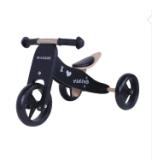 '' bici di legno 2 dell'equilibrio 7 in 1 nero