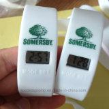 Vigilanza poco costosa del Wristband di Digitahi del silicone con il marchio personalizzato per la promozione