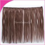 ピアノ人間の毛髪の中国のRemyの毛のよこ糸