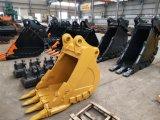 掘削機の掘るバケツ20t 700mmの広くハードロックのバケツ