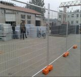 Cerco provisório galvanizado com cinta