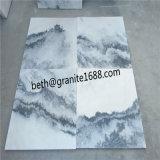 Marmeren Tegel voor het Vloeren van de Bewolkte Grijze Marmeren Tegel van de Muur