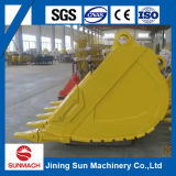 Compartimiento de acero de alta calidad modificado para requisitos particulares del excavador del color