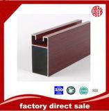 Profil en aluminium d'impression en bois pour la poudre de Windows enduisant l'interruption thermique