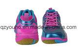 El bádminton respirable de los deportes de las mujeres calza las zapatillas de deporte de interior del amaestrador de Corss de la gimnasia