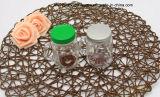 Tazza di vetro della maniglia del mini caffè con il coperchio del metallo
