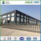 Estructura de acero de dos pisos prefabricados