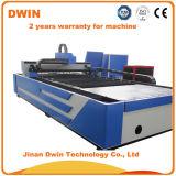 Machine de découpage de laser de tube en métal de fibre de commande numérique par ordinateur de l'acier inoxydable 1325