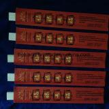 Manteaux rouges personnalisés, imprimés, baguettes en bambou jetables