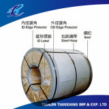 Bobina de acero cubierta color de la aplicación del material para techos