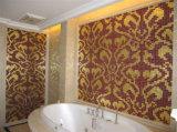 Mosaico dell'oro, mattonelle della parete del mosaico di arte del mosaico del reticolo (HMP648)