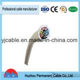 Fil électrique noir Kvv de câble de commande de la jupe 5cores 5*2.5mm2 de PVC