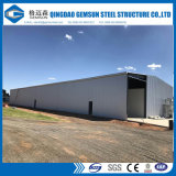 Edificio ligero galvanizado sumergido caliente del taller de la estructura de acero