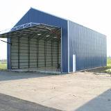 Hangar de aço Pre-Projetado dos aviões com porta do Roll-up