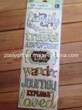 Hechos a mano Arte de papel Scrapbooking embellecimientos adhesivo pegatinas 3D.