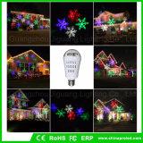 Halloweenクリスマスおよび党装飾の投射LEDの球根ライトスポットライト