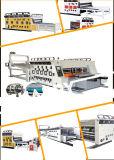 Hochgeschwindigkeitskarton-Drucken und kerbende Maschine