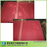 5mm Toughened (Red PrintingのWarm Air Blowerのための緩和された) Decorative Glass Panel