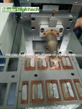 Amostra ultra-sônica da soldadura da placa de metal