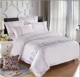 Bordado hotel y conjunto de ropa de cama