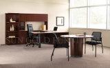 관리 사무소 가구, 현대 백색 탁상용 강철 발 사무실 책상 (SZ-OD364)