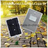 Лучшая цена Встроенный светодиодный индикатор солнечной улице лампа 8 Вт
