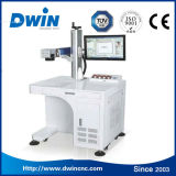 20W de Laser die van de vezel Machine voor de Prijs van de Code van de Kop van het Metaal merken