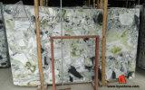 돌 석판 또는 묘비 싱크대 마루 도와 포장하기를 위한 중국 얼음 녹색 대리석