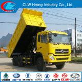 Vrachtwagen van de Stortplaats van Dongfeng 6X4 25ton de Op zwaar werk berekende voor Verkoop