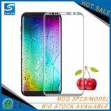 Exklusiver Bildschirm-Schoner des ausgeglichenen Glas-3D für Samsung S8
