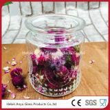 Bouteille de verre de stockage de bonbons jar pour l'alimentation