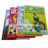 ハードカバーの書籍(OEM-HC002)、フルカラー印刷