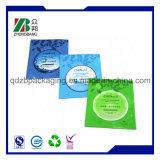 Tres lados sellado el papel de aluminio Envases de plástico bolsas de la máscara de cosméticos